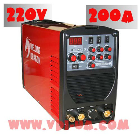 Инвертор TM200ACDC Pulse HF Welding dragon