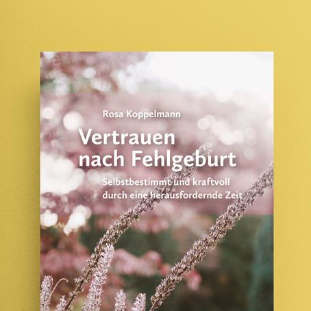 """Buchcover von Katja Rub zu """"Vertrauen nach Fehlgeburt"""""""