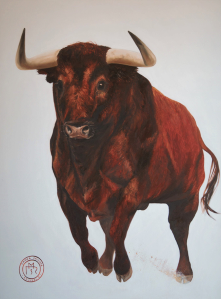 peinture-toro-corrida