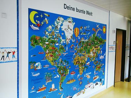 Deine-bunte-Erde-Illustrationen-Weltkarte-Kinder