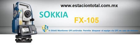 estacion total sokkia fx-105