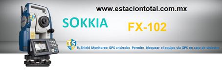 estacion total sokkia fx-102