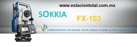 estacion total sokkia fx-103
