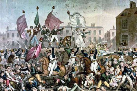 The Peterloo Massacre in Manchester, 1819, was the spark for one of the most creatively incendiary periods of Percy Shelley's life.