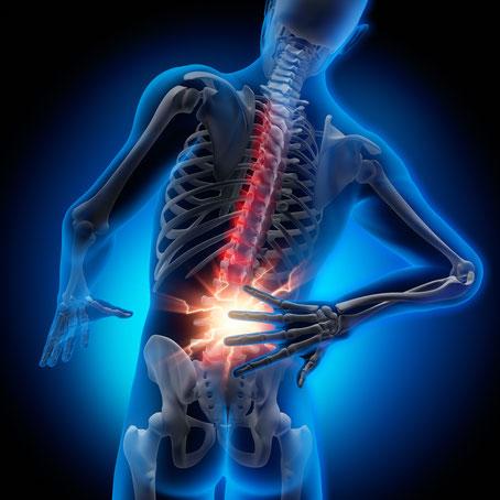 Osteopathie beiRückenschmerzen,Gelenkschmerzen,Kopfschmerz,Migräne