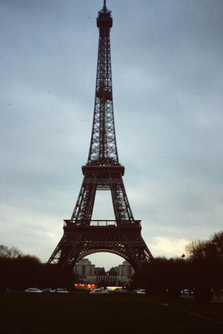 Frankreich, Paris, Sehenswürdigkeit, Eiffelturm