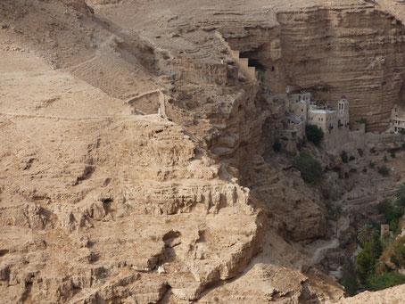 Монастырь св. Георгия Хозевита в Иудейской пустыне