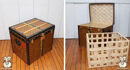 Malle a chapeau carré Louis Vuitton 1905 hat trunk