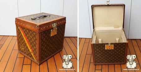 Boîte à chapeau Louis Vuitton vintage