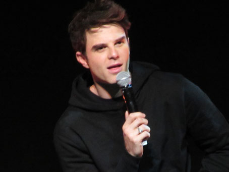 Nate Buzolic at Bloody Night Con Europe