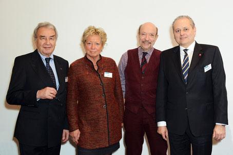 VFB NW-Vorsitzender Hanspeter Klein, Beratender Ingenieur; VFB NW-stellv. Vorsitzende: Angelika Haus, Fachärztin; Dr. Klaus Befelein, Zahnarzt und Michael Steinrücke, Steuerberater und Rechtsanwalt (v.l.n.r.)