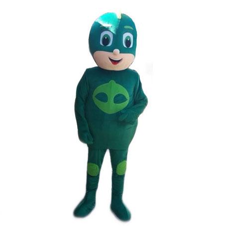 noleggio-mascotte-geco-pjmask-roma
