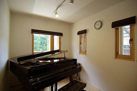 東京 調布 戸建 リフォーム ピアノ室 ツーバーフォー 2×4