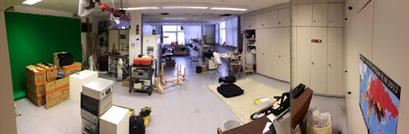 Abbau alten Studio