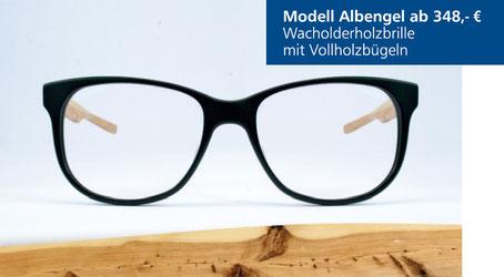 Wacholderholz-Brille Modell Albengel