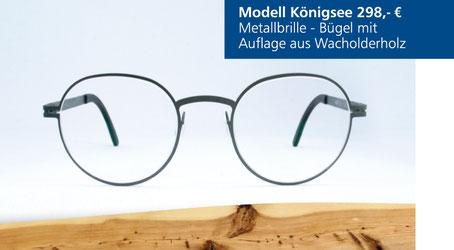 Metall-Brille Modell Königsee