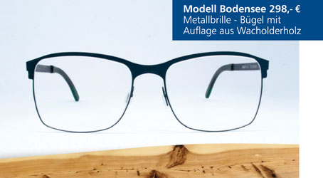 Metall-Brille Modell Bodensee
