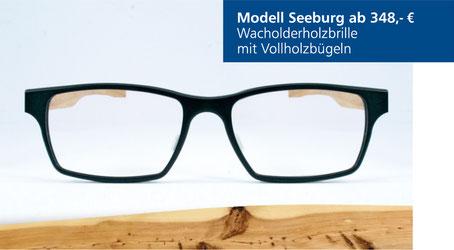 Wacholderholz-Brille Modell Seeburg