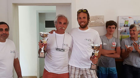 Zanillo Bordon e Mattia Bordon primi nella Categoria Fireball Classic.