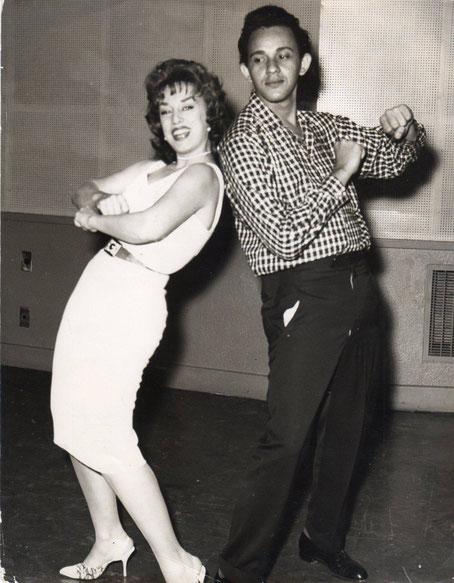 Rosita Forness y Eduardo Davison.