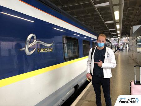 Reizen met de Eurostar