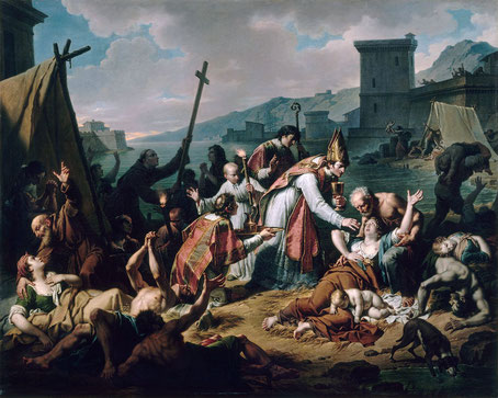 François-Xavier de Belsunce, évêque de Marseille pendant la Grande peste