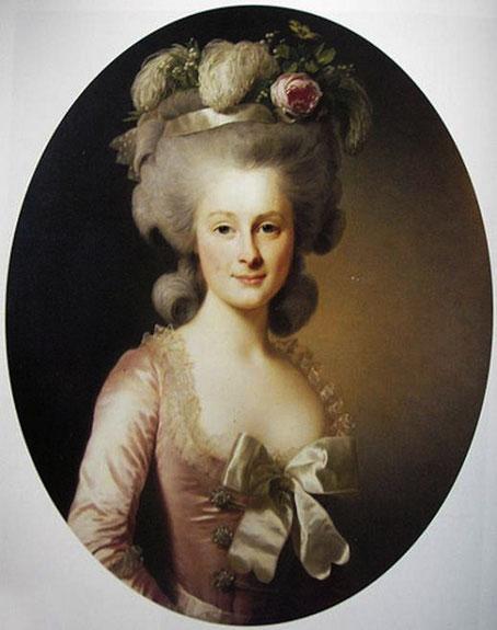 Princesse de Lamballe -  Élisabeth Vigée Le Brun