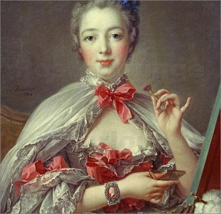 Mme de Pompadour - François Boucher - 1756