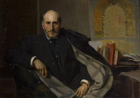 Joaquín Sorolla. Santiago Ramón y Cajal (1906)