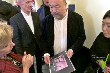 Katy Schnee, Ai Weiwei, 18.11.2017