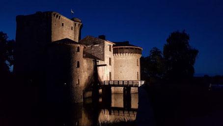Chambres d'hôtes au château fort médiéval