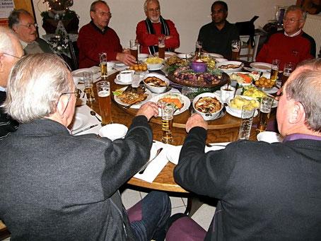 Besuch der RentnerBand bei Pastor Mathew Thayil
