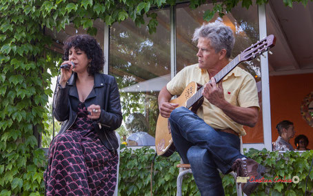 Don't Explain : Charlote Desbordant, Pascal Rauzé au Festival JAZZ360 2019, Cénac. Samedi 8 juin 2019
