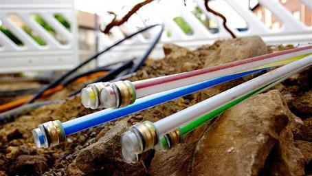 Absehbar ist, dass das gesamte Stadtgebiet mit schnellem Internet versorgt wird. In den weißen Bereichen will die Telekom sogar mit dem Glasfaser bis in die einzelnen Haushalte gehen. Foto: J. Lange