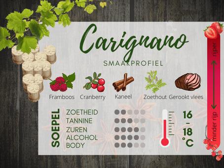Wijnhuizen Sardinie - wijnsoort Carignano