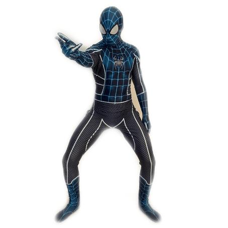 mascotte spiderman nero