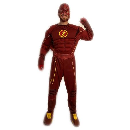 mascotte flash avengers roma