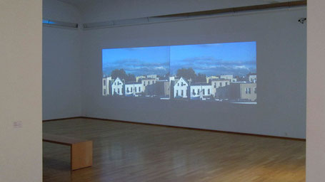 2 channel video installation, 2013, Kunstmuseum Ahlen