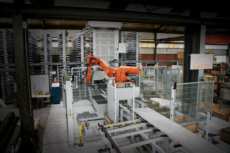 KASTO Saws, integrated systems