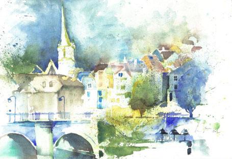 Bern, Nydeggbrücke - 2002