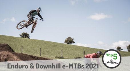 Die besten Enduro und Downhill e-MTBs 2021