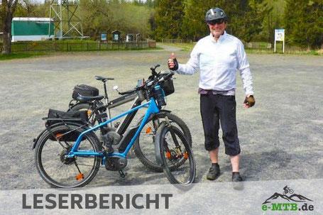 Das Riese&Müller Supercharger GX Rohloff ist perfekt für lange Touren.