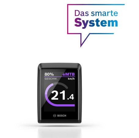 Das smarte Kiox 300 Display von Bosch eBike Systems