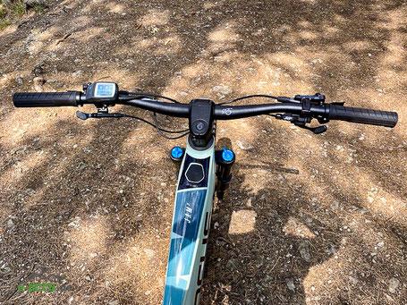 Lenker des Focus Jam² 6.9 e-Mountainbikes