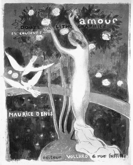 『アムール』シリーズのリトグラフ(1899年)