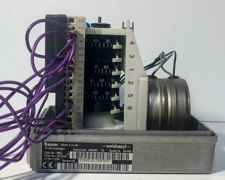 Weishaupt servomotor, Type: 1055/80