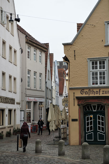 Was geht in Bremen? Das Schnoorviertel