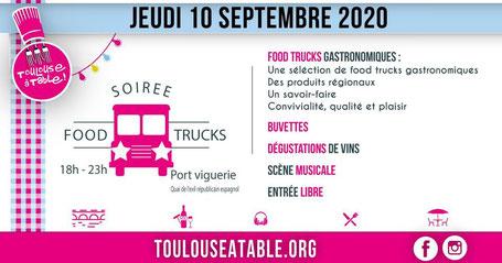 La picada loca à la Soirée Food Trucks avec Toulouse A Table