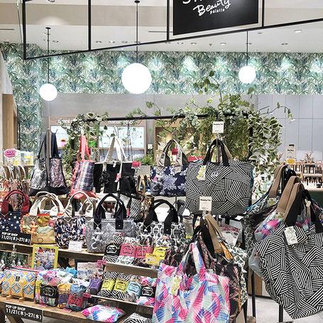 町田東急ツインズ ShinQs Beauty Palette店頭にて