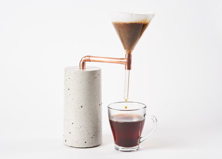 Kaffeezubereiter Coffee Maker #2 für Pour Over Filterkaffee im BetonDesign